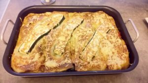 Recette des lasagnes aux courgettes