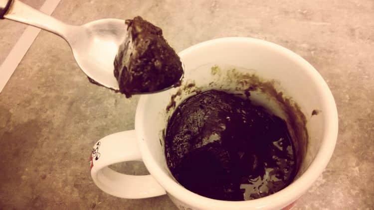 Recette du mug cake coulant au chocolat