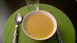 Recette de la soupe au potimarron